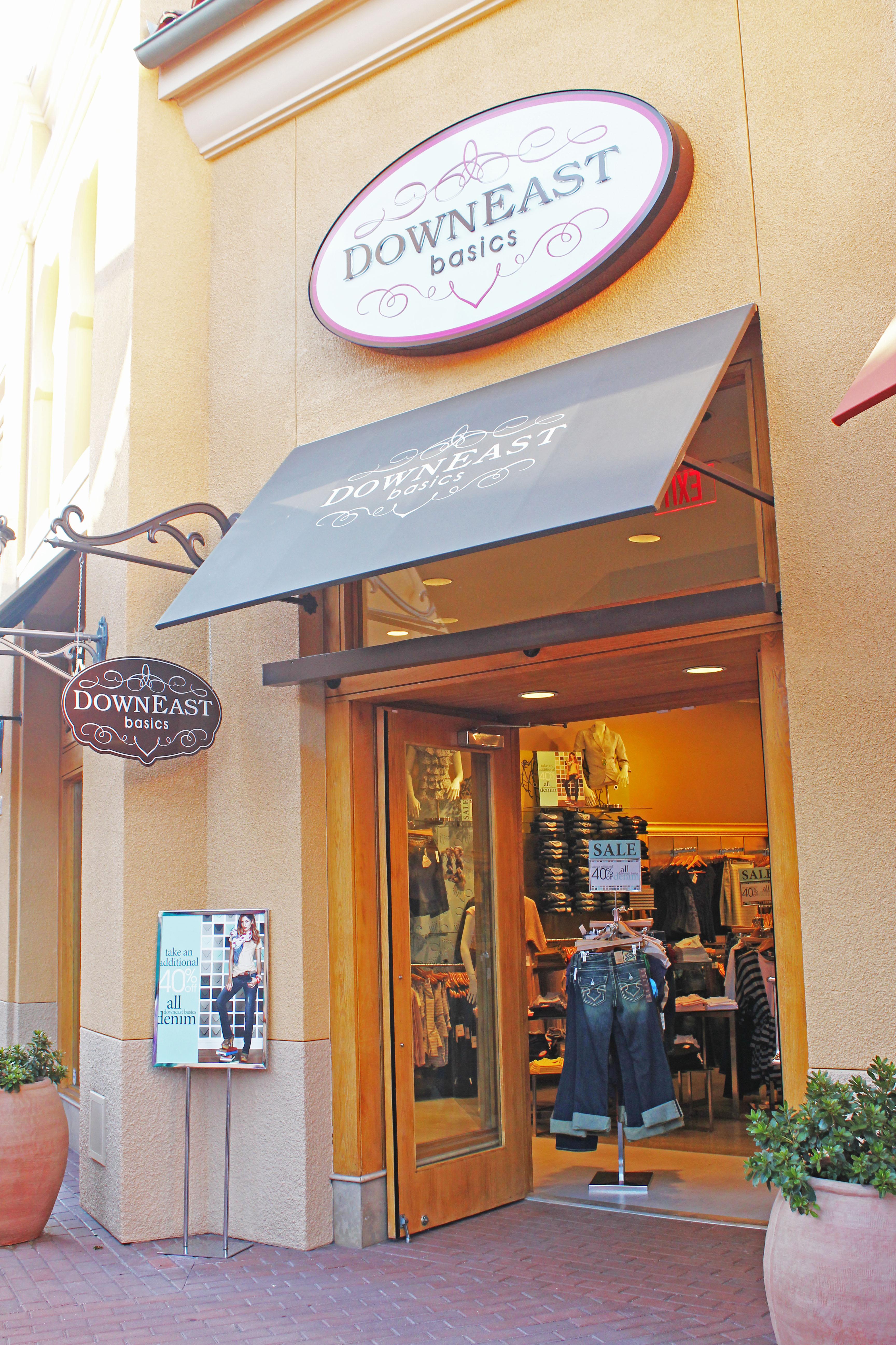 Basic clothing store