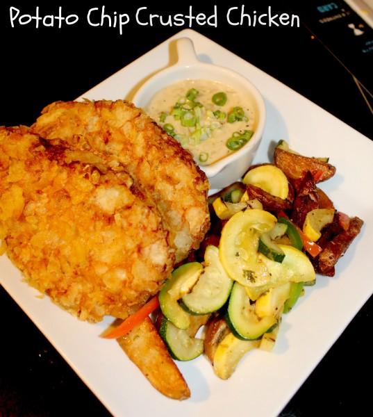 potatochipcrustedchicken