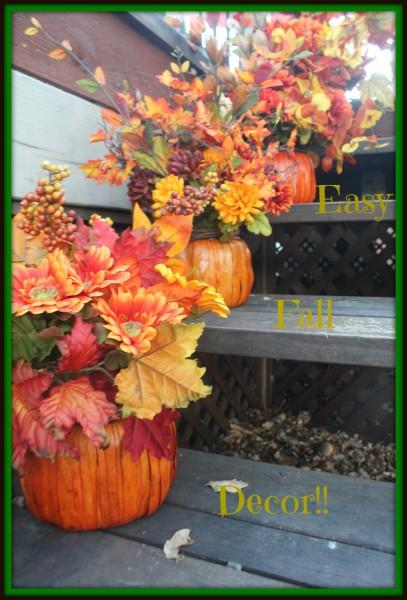 Fall Flower Baksets