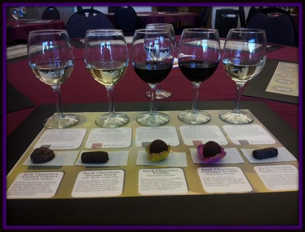 Wine and Chocolate Tasting