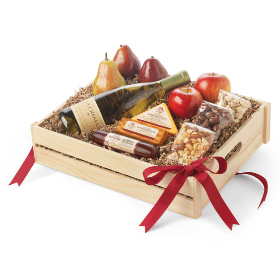 Hickory Farms Wine Gift Baskets
