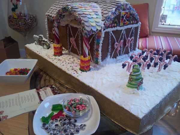 Two Amigos Gingerbread House