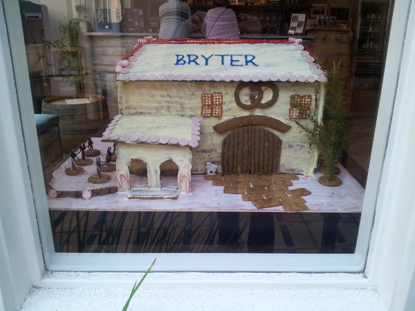Bryter Estates Gingerbread House