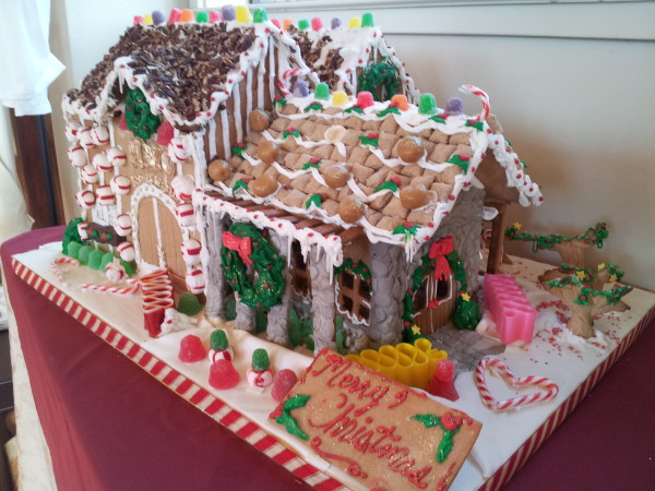 Mayo Family Winery Gingerbread House