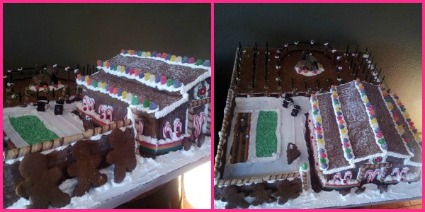 Larson Family Winery Gingerbread House