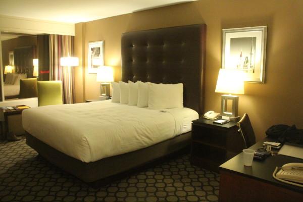 Hyatt OC hotel room