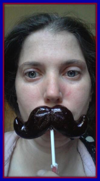 Mustache Kisses #KYDateNight #AD