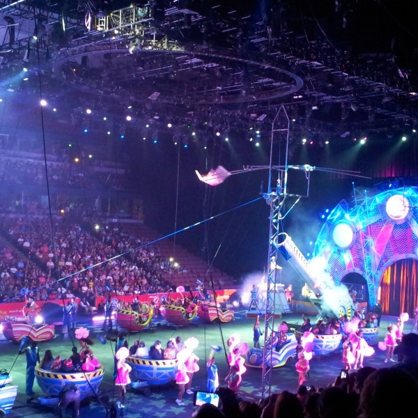 Honda Center Circus