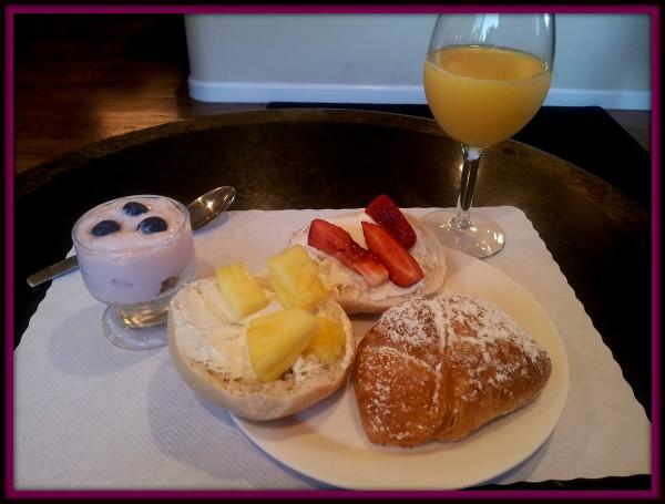Breakfast at Vendange