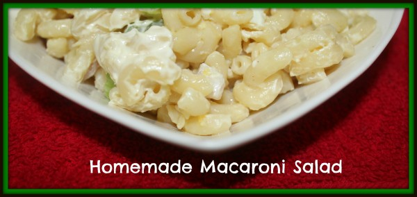 homemademacaronisalad