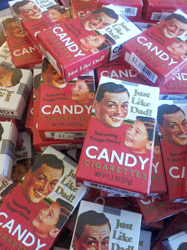 Candy Cigarettes, Head Back in Time to America's West via the V&T Railroad, Carson City Nevada