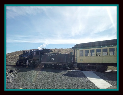 Carson City, Nevada:  Bringing the Past to the Present with V and T Railroad