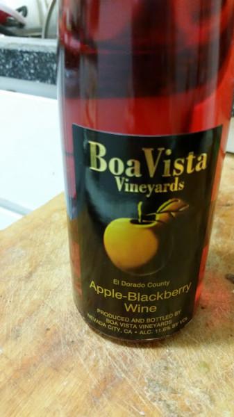 Apple-Blackberry-Wine