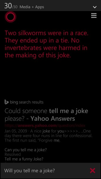 Tell-a-joke-cortana